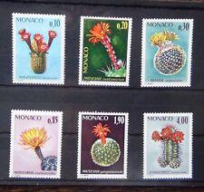 Monaco 1975 Plants set MNH