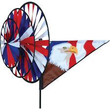 """""""Eagle Triple Spinner"""" (Patriotic) Yard Spinner (22146) by Premier"""