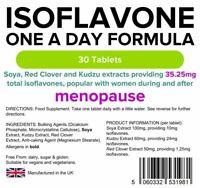 Lindens Isoflavone Formula (Soya+)  30 Tablets Menopause Support