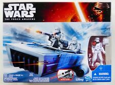 STAR WARS NEW FORCE AWAKENS FIRST ORDER SNOWSPEEDER + SNOWTROOPER MISB TFA EP7