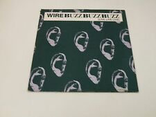 """WIRE - BUZZ BUZZ BUZZ (LIVE LIVE LIVE) - 12"""" MUTE UK RECORDS LIMITED EDITION -"""