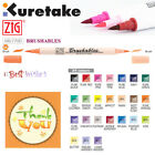 ZIG BRUSHABLES Kuretake Watercolor Brush Pens Painting Twin Tip MS-7700 Japan