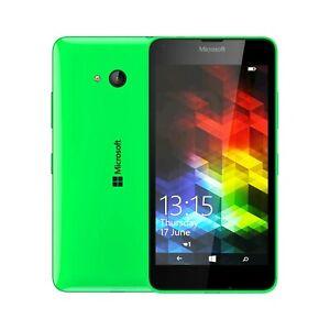 Unlocked Nokia Lumia 640 Microsoft Windows Mobile Phone 8GB Green DUAL SIM UK
