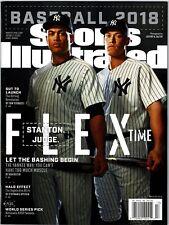 N Sports Illustrated Giancarlo Stanton Aaron Judge Yankees Flex 2018 No Label