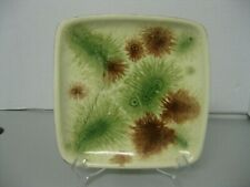 Joan Pompa Square Pine Branches and Pine Cone Wall or Centerpiece Plate