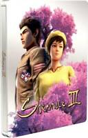 Shenmue 3 PS4 Steelbook *NO GAME* New rare
