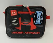 Under Armour Insulated Lunch Bag Cooler Thermos Black Red