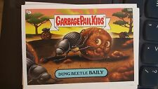Garbage Pail Kids 2007 All-New Series ANS 7 #18b Dung Beetle Baily NrMint-Mint
