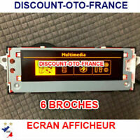 Ecran lcd afficheur multifonction 207 Peugeot Citroen 307 308 408 C4 C5