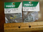 """PERFECT #205 3-48 x 3/4"""" MOUNTING BOLTS , 2 PACKS (NEW IN SEALED PKG)"""