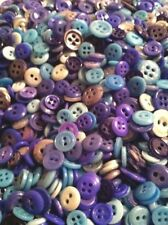 "⭐️  LOT OF 300+ CHINA BUTTONS ANTIQUE~VINTAGE   ""ASSORTED BLUES""  ⭐️"