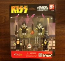 K'NEX Kiss Minifig Figure Set 48585 Demon Starchild Spaceman Catman 41pc