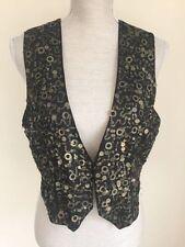 Waist Length Polyester None Regular Waistcoats for Women