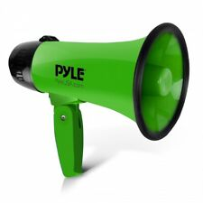 Pyle Pro Megaphone Powerful Mega Phone 20w Pistol Grip Loud Hailer Speaker Siren