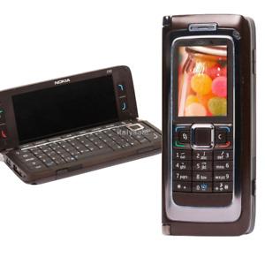 Original NOKIA E90 Mobile Brown Cell Phone 3G GPS Wifi 3.2MP Bluetooth Phone