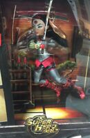 "SDCC 2016 MATTEL EXCLUSIVE DC SUPER HERO GIRLS KATANA 12"" DOLL~STAND~ACCESSORIES"