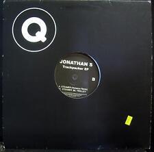 """Jonathan S - Trackpacker EP 12"""" VG+ Q Records 004 Techno Vinyl 2002 Sweden"""