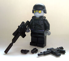 Lego COVERT OPS COMMANDO Custom Minifigure -Brickarms Accessories- Military Army