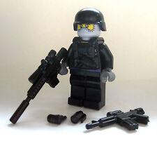Lego COVERT OPS COMMANDO Custom Minifigure -Brickarms Accessories- Military Army