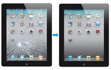 Apple iPad 2 3 4 Cracked Glass Touch Screen Digitizer Repair Service