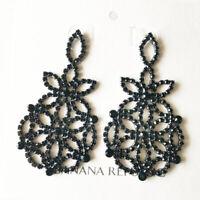 New Banana Republic Rhinestone Drop Earrings Gift Fashion Women Party Jewelry