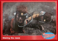 THUNDERBIRDS - Making the News - Card #52 - Cards Inc 2001