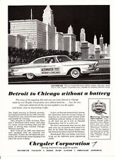 1961 PLYMOUTH FURY ~ ORIGINAL PRINT AD