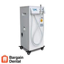 TPC Dental Products Mobile Vacuum Portable System w/ HVE SE Valves Ref #PC2530