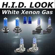 H7 HB3 H3 501 55W Bianco Xenon HID look ALTO BASSO NEBBIA Riflettore Lampadina Pack