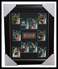 South Sydney Rabbitohs 2015 NRL Card Team Set Framed Greg Inglis Sutton Reynolds
