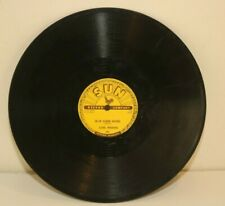 """Carl Perkins Blue Suede Shoes Honey, Don't SUN Record 78 Single 10"""""""