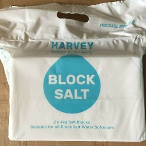 10 PACKETS HARVEY SALT BLOCKS 2X4KG  £51.00 PLEASE READ THE DESCRIPTION