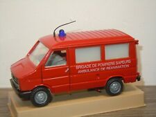 Fiat Iveco Daily Brigade De Pompiers Sapeurs - Old Cars Italy 1:43 Box *36917
