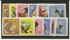 More details for north vietnam 1968 pottery sg. n535-40 perf and imperf sets of 6 mnh