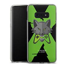 Samsung Galaxy S10e Silikon Hülle Case - VfL Wolfsburg X eSport