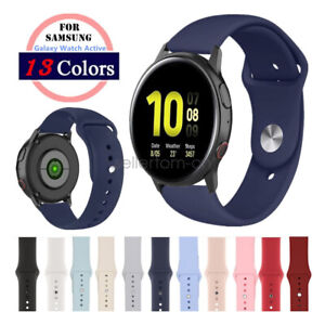 Samsung Galaxy Watch Active/2 Watch Band A# Quick Fit Silicone Sport Watch Strap