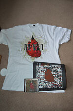 THE USED XL LARGE BAND CONCERT T-SHIRT CD And Art Work Print Imaginary Enemy
