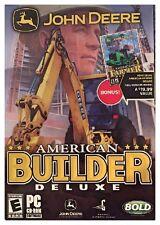 John Deere American Farmer Deluxe + John Deere American Builder Deluxe - Sealed