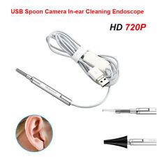 In-ear Inspection Camera Spoon Camera 3.9mm Medical Otoscope Borescope Android