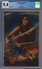 Wonder Woman #26 SDCC Exclusive Variant Convention Foil Gal Gadot CGC 9.4