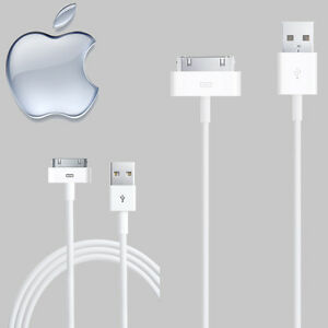 100% GENUINE Apple Cable Sync Charger USB Data Cable for iPhone 4S 4 3GS 3G