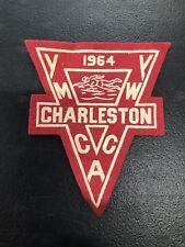 Vintage YMCA Charleston 1964 Felt Patch