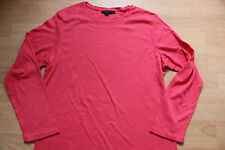 BODEN  pink cotton long sleeve top size 20  NEW