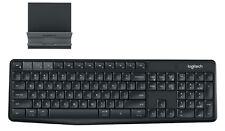 Logitech K375s Wireless Keyboard - QWERTY, U.S English, Unifying USB, Bluetooth