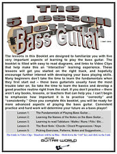 Easy Bass Guitar Lessons, The 5 Lesson Bass Guitar Method - Download