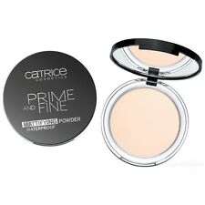 CATRICE 'Prime and Fine' Mattifying Setting Waterproof Powder 010 Translucent!