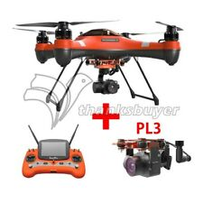 Swellpro Splash Drone 3+ Fisherman Monitor Waterproof Quadcopter +PL3&FPV Camera