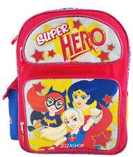 "DC SUPER HERO GIRLS Backpack 16"" Large School backpack NEW! Wonder Woman"