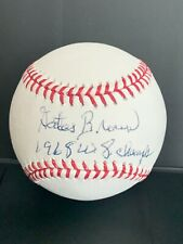 New ListingGates Brown autographed baseball - Detroit Tigers 1963-1975 Coa Ws Champs 1968