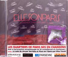 Compilation CD ElleSonParis - France (M/M - Scellé)